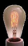 Lampe à filament de carbone