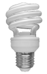 Lampe fluo-compacte