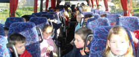 Le transport en car jusqu'à Plougastel-Daoulas