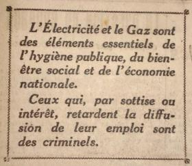 Histoire électricité