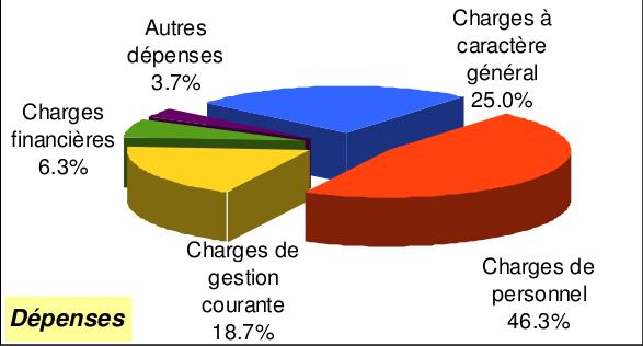 CA 2012 fonct dépenses